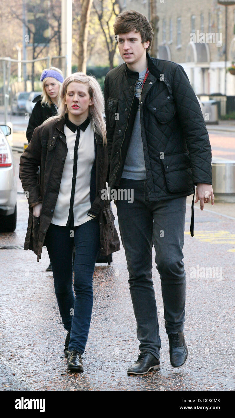 Ellie Goulding And Greg James Stock Photos & Ellie ...