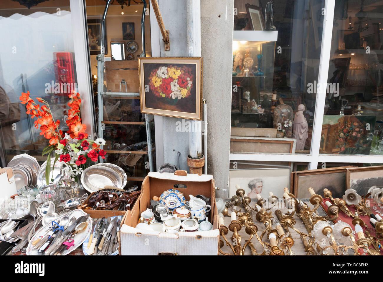 paris flea market clignancourt stock photos paris flea. Black Bedroom Furniture Sets. Home Design Ideas