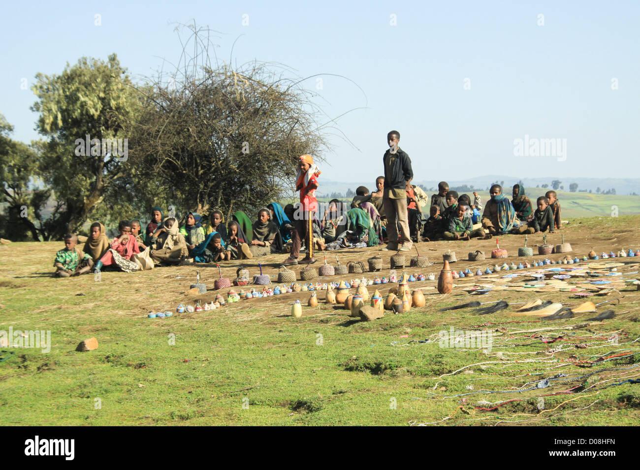 Ethiopia, Gondar Stock Photo