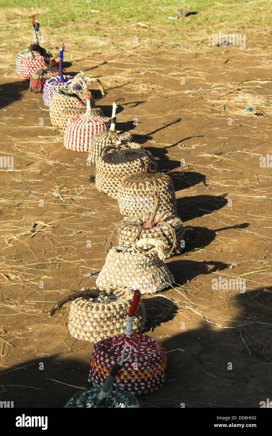 Ethiopia, Gondar market - Stock Image