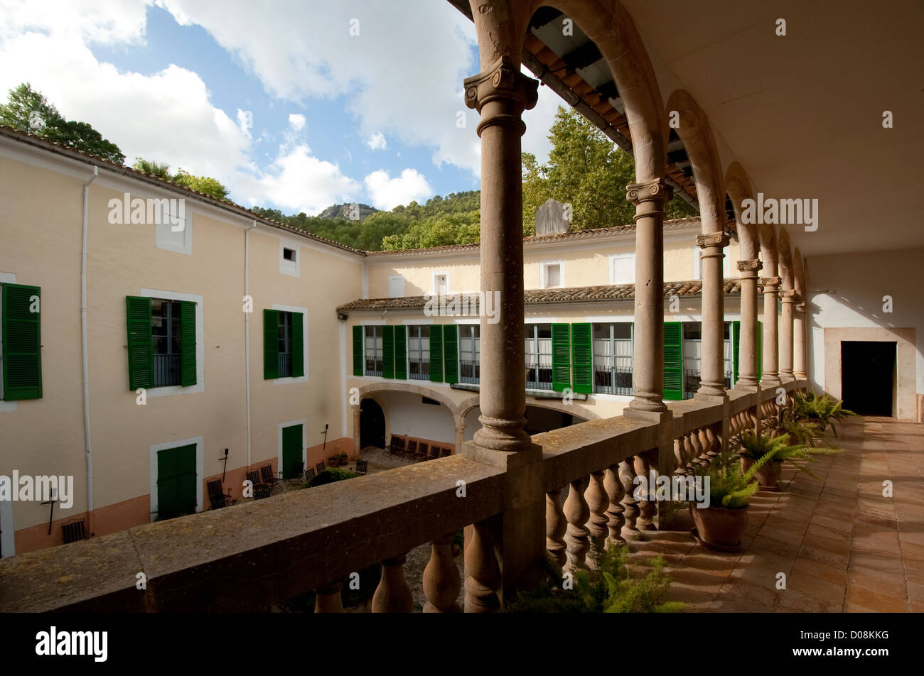 Mallorca, Sa Granja typical country house from 18th19th century - Stock Image