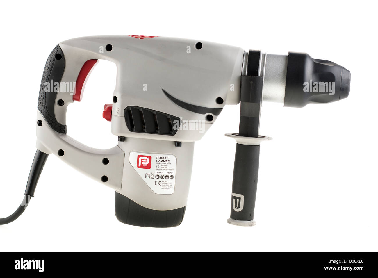 SDS 850 watt Rotary Hammer and chiseling drill from Performance - Stock Image