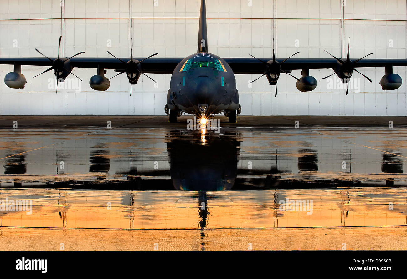 HC-130J Roll Out - Stock Image