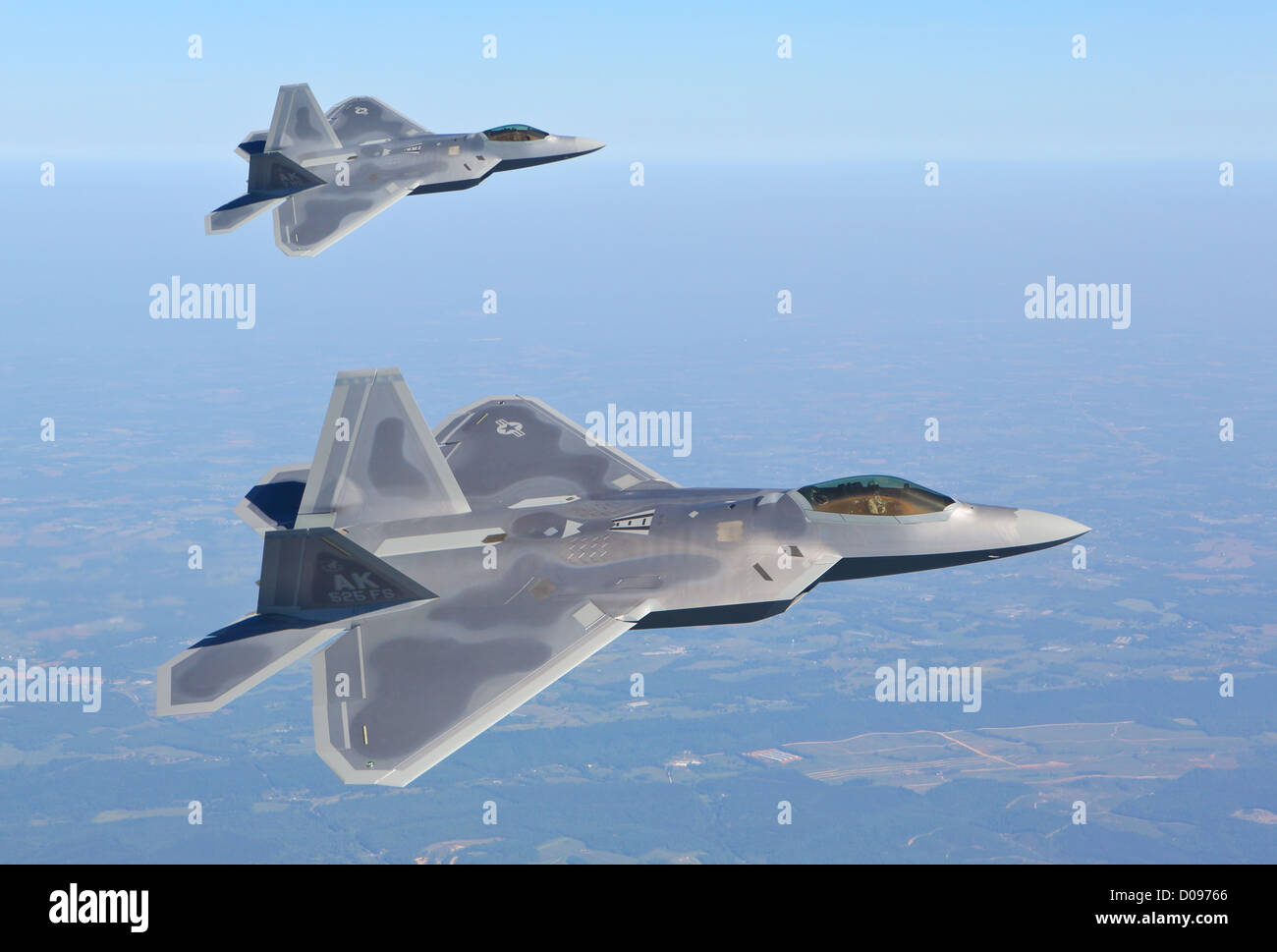 F-22  Raptor - Stock Image