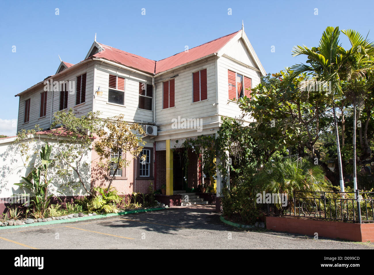 THE HOME OF BOB MARLEY (1945-1981) JAMAICAN REGGAE MUSICIAN TODAY TURNED INTO A MUSEUM KINGSTON JAMAICA THE CARIBBEAN - Stock Image