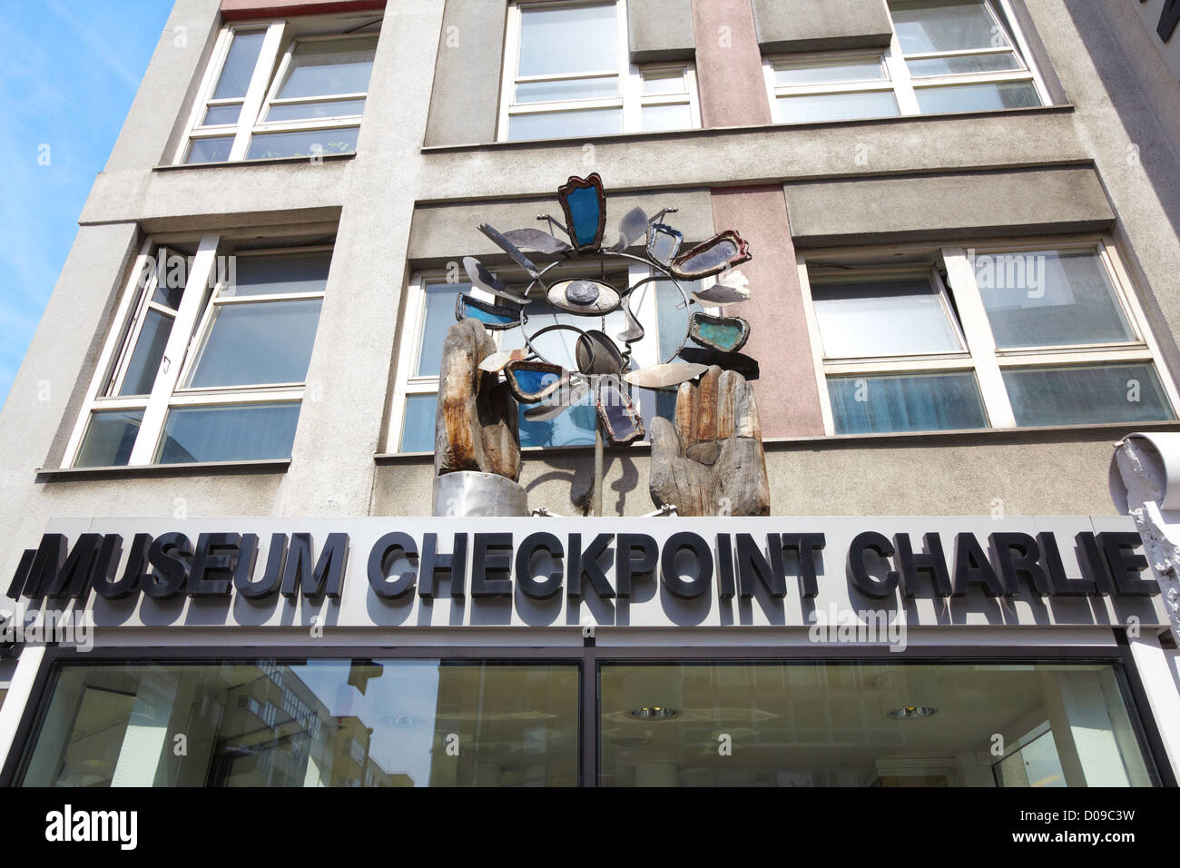 Museum Checkpoint Charlie in Berlin - Stock Image