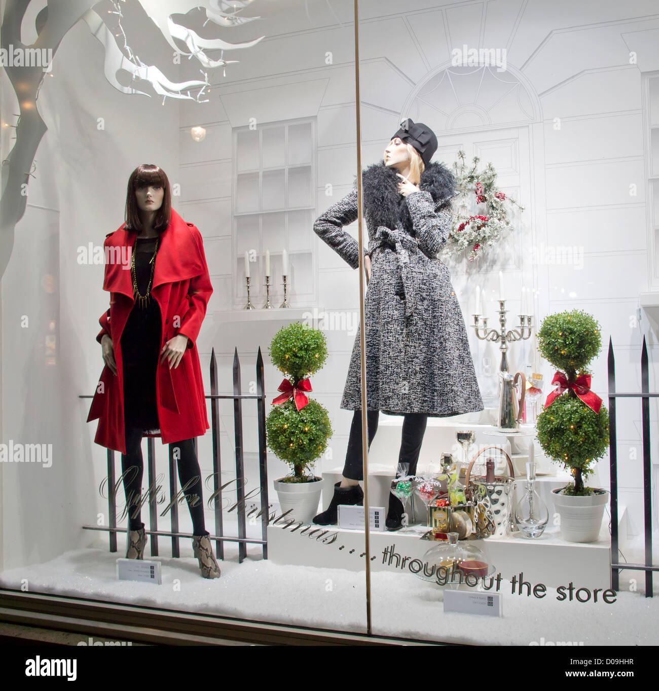 Window Displays Of Womens Clothing