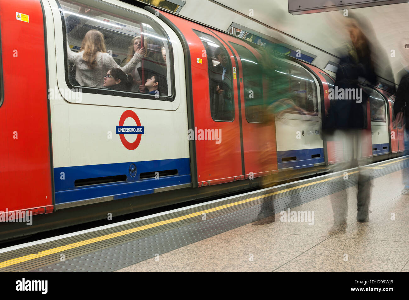 London Tube Station - Stock Image