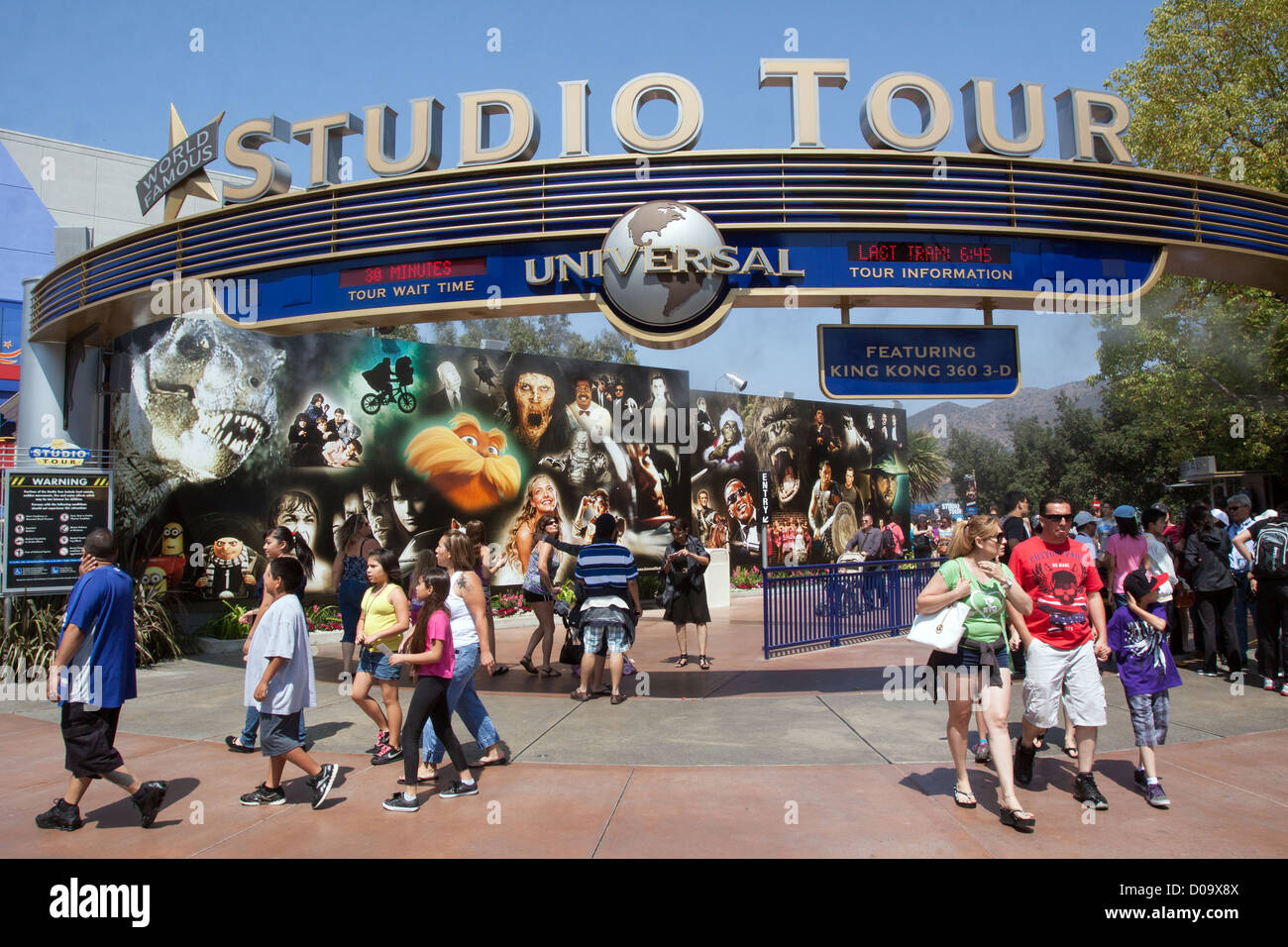 Movie Studio Tour California High Resolution Stock Photography And Images Alamy