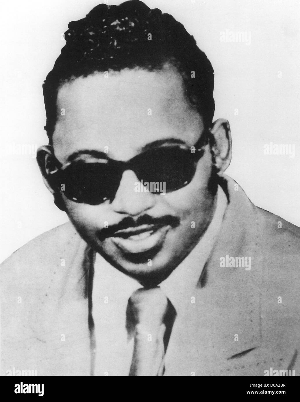 ARCHIE BROWNLEE  (1925-1960) lead singer with the Five Blind Boys of Mississipi (died 1960) - Stock Image