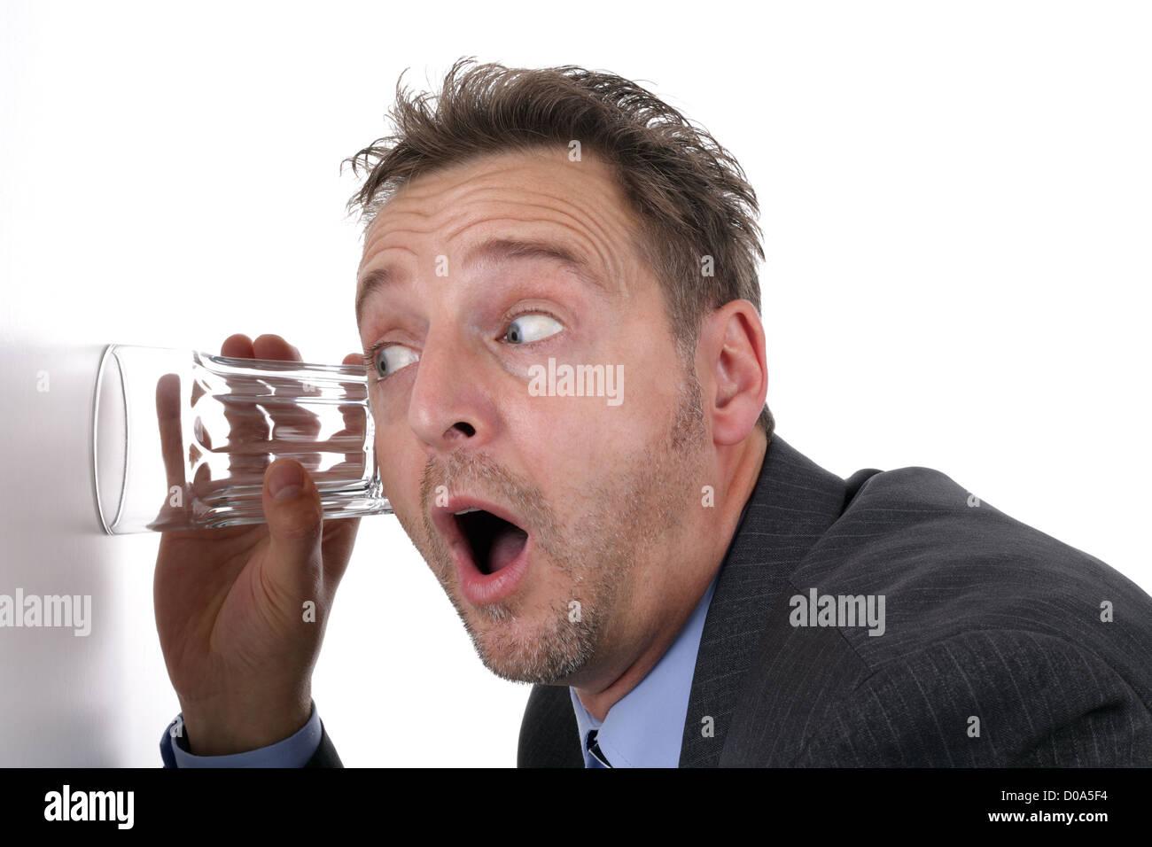 Business secrets - Stock Image