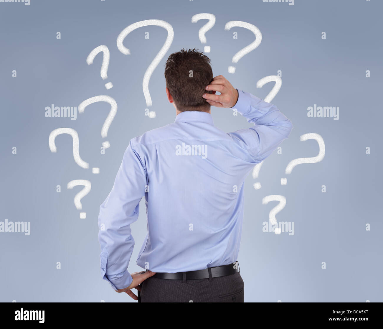Business decisions - Stock Image