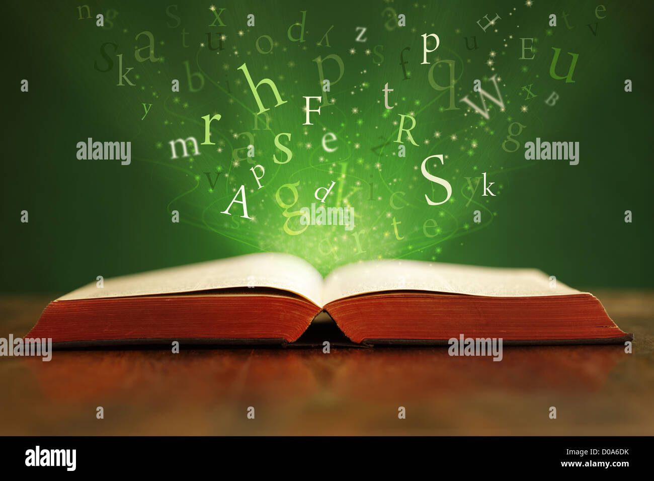 Magical words - Stock Image