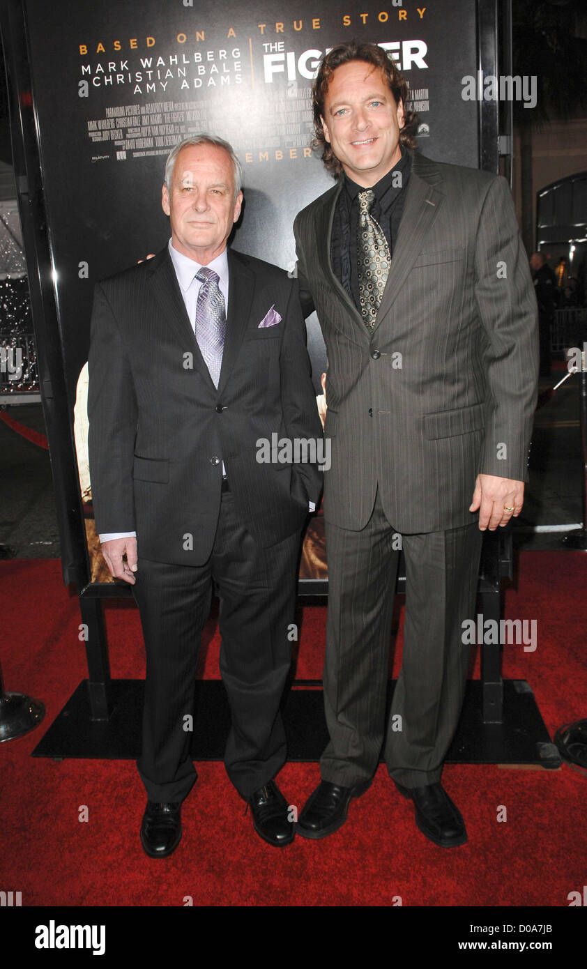 David Hoberman and Todd Lieberman Los Angeles Premiere of 'The Fighter' held at the Grauman's Chinese - Stock Image