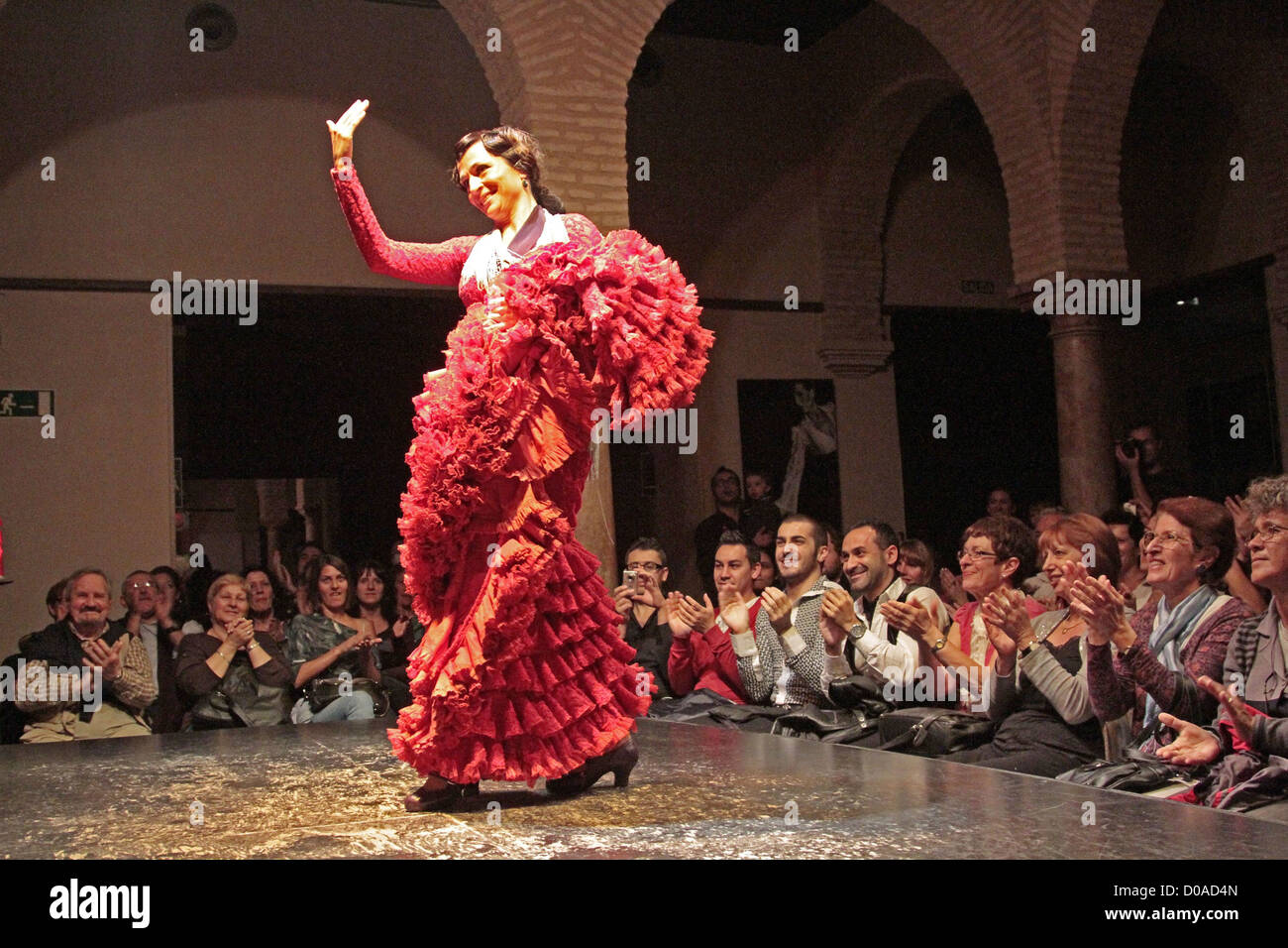 Flamenco performance museo del baile flamenco flamenco for Espectaculo flamenco seville sevilla