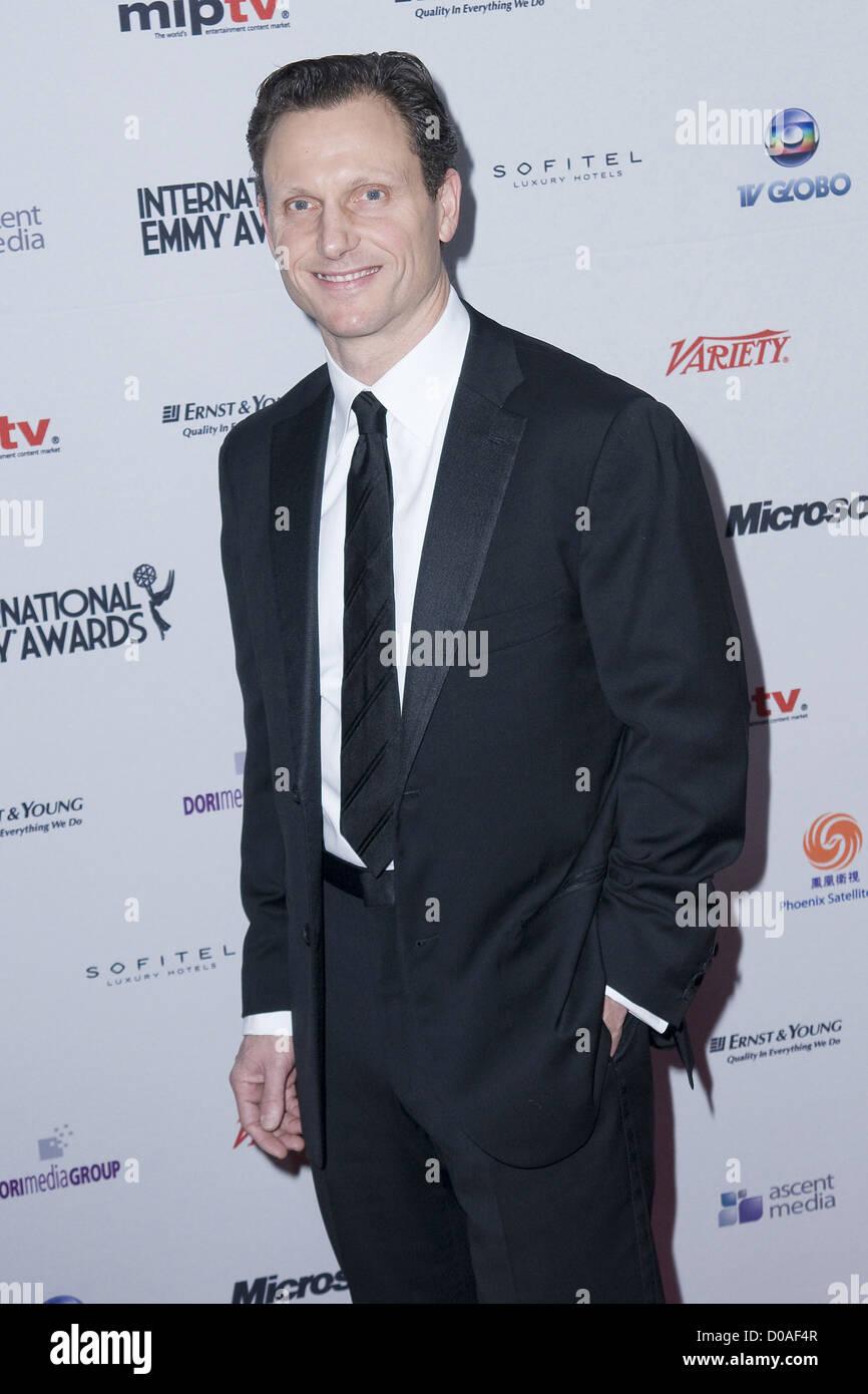 Tony Goldwyn 38th International EMMY Awards - Arrivals New York City, USA - 22.11.10 - Stock Image