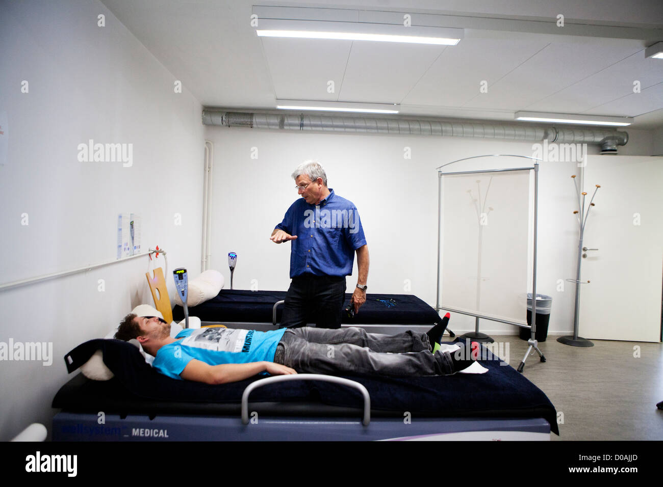 HYDROTHERAPY - Stock Image