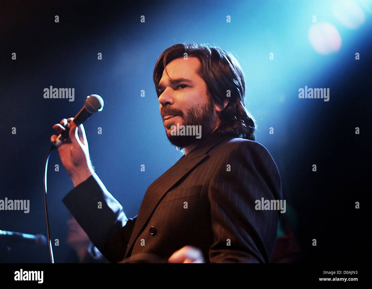 Matt Berry of Mighty Boosh and IT Crowd fame, performing at Liverpool Masque. Liverpool, England - Stock Image