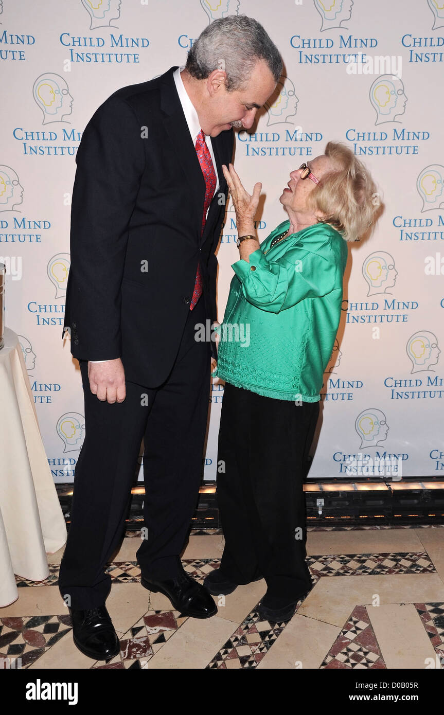 Harold S. Koplewicz M.D. and Dr. Ruth Westheimer First Annual Child Mind Institute Awards Gala - Arrivals New York - Stock Image