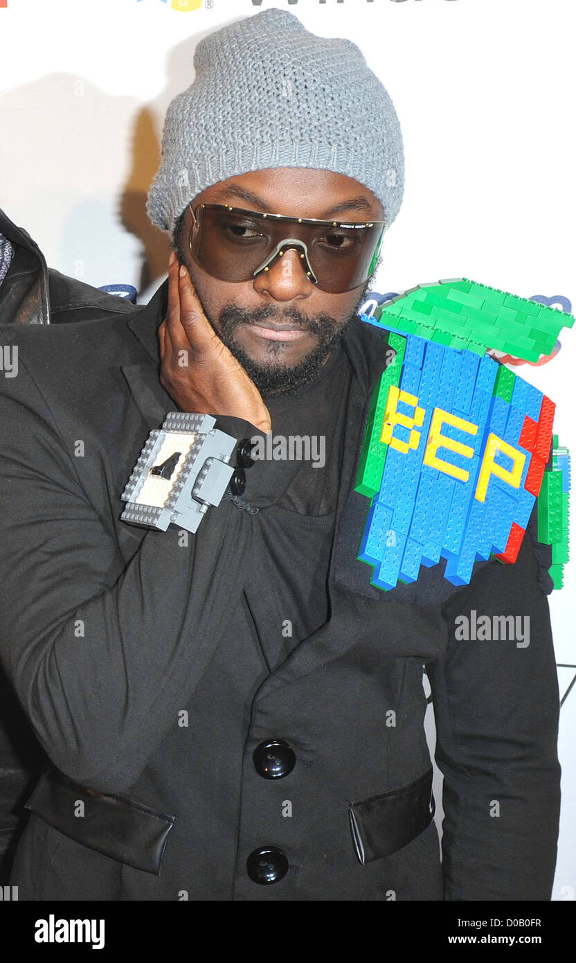 Will i am from the Black Eyed Peas Jingle Bell Ball held at The O2 Arena. London, England - 04.12.10 - Stock Image