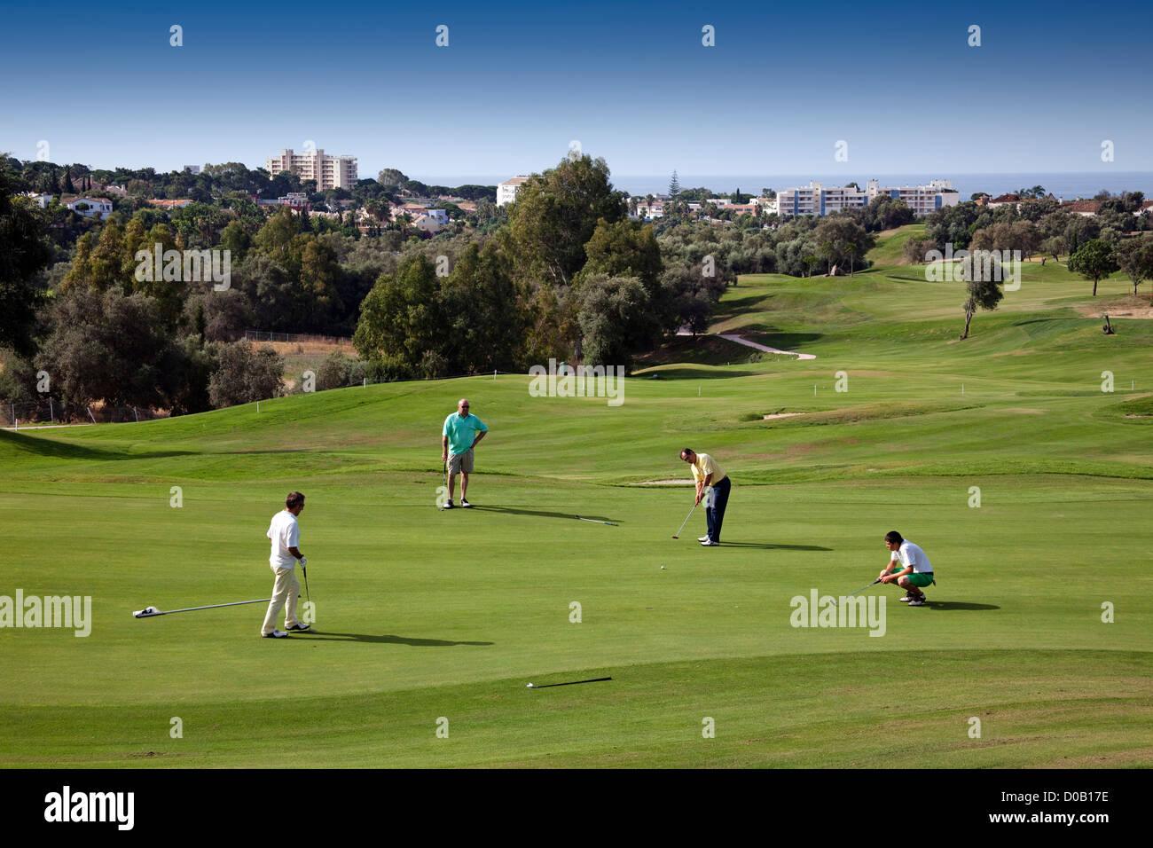 Marbella Club Golf Malaga Costa del Sol Andalusia Spain - Stock Image