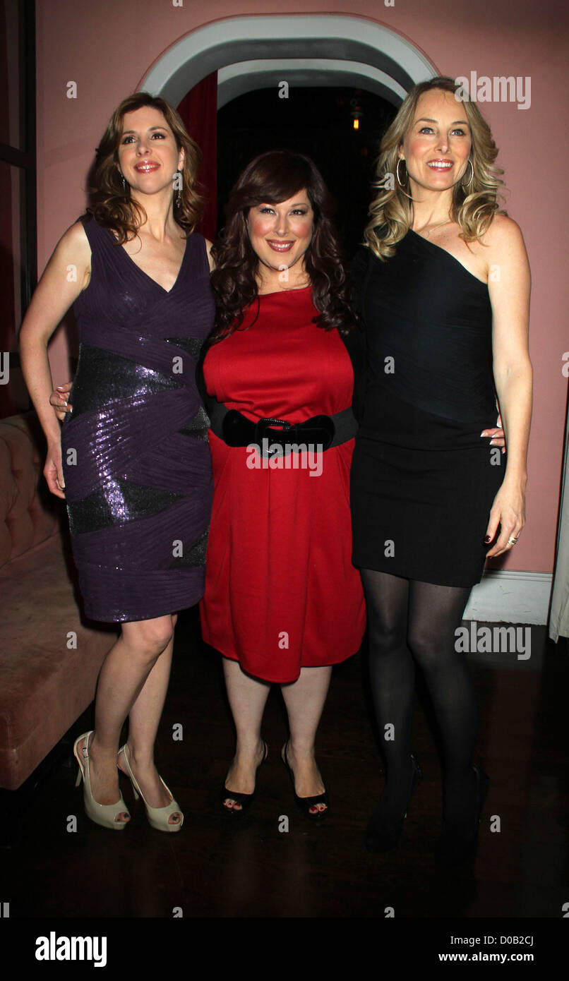 Wendy Wilson, Chynna Phillips, Carnie Wilson Wilson Phillips perform songs from their new album 'Christmas in - Stock Image