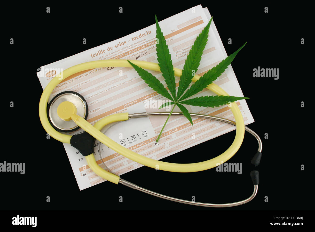 THERAPEUTIC CANNABIS - Stock Image