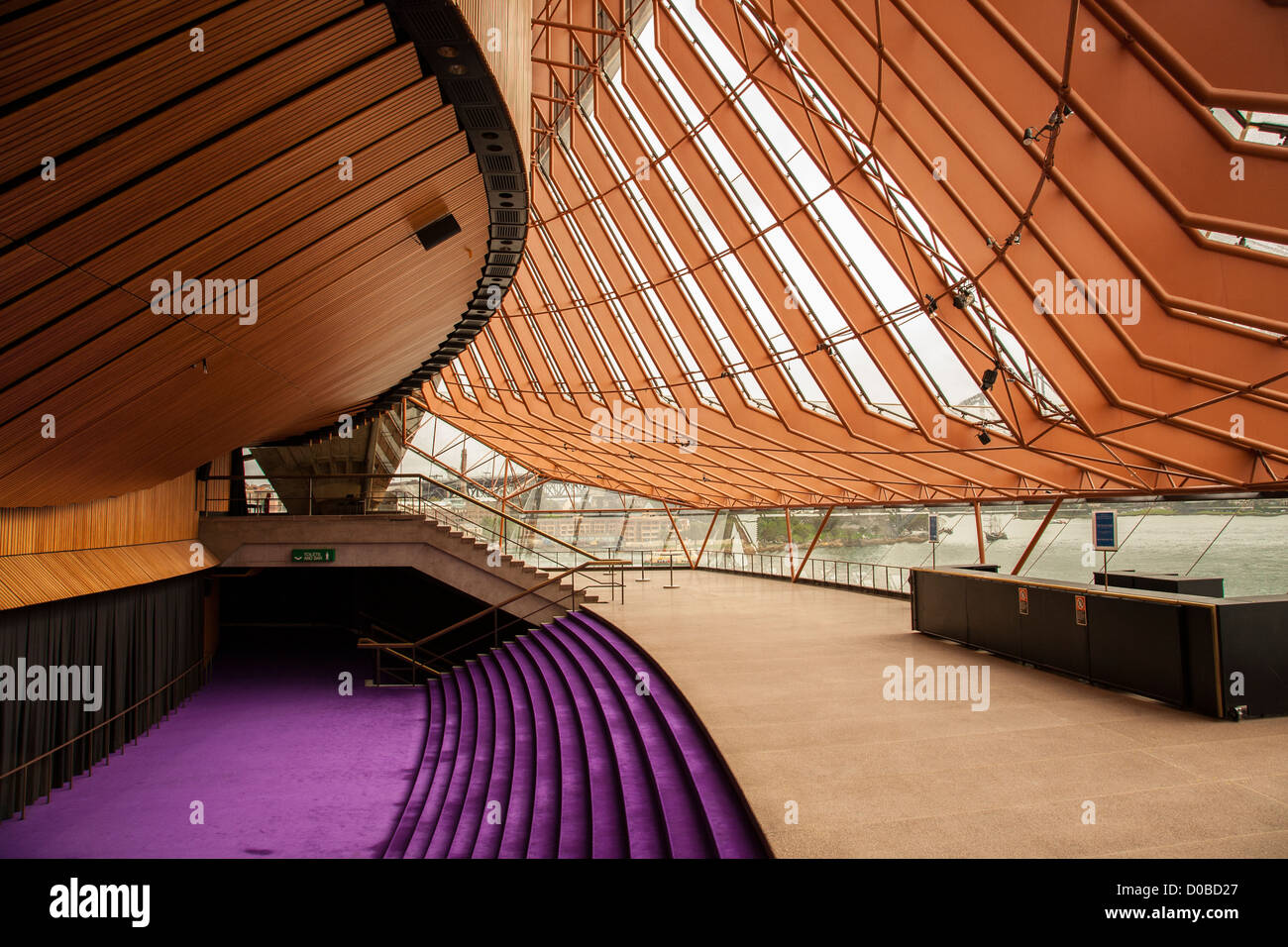 Western Foyer Box Office Opera House : Sydney opera house interior australia stock photo