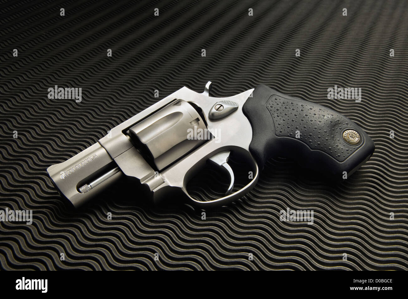 Taurus Model 856 Snub Nose 38 Special Revolver Stock Photo: 51885470