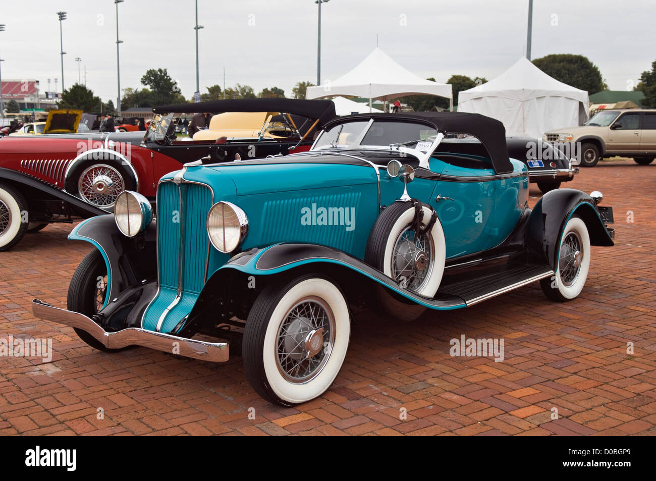 1932 Auburn 8-100 Speedster at the 2012 Concours d'Elegance at Churhill Downs in Louisville, Kentucky - Stock Image