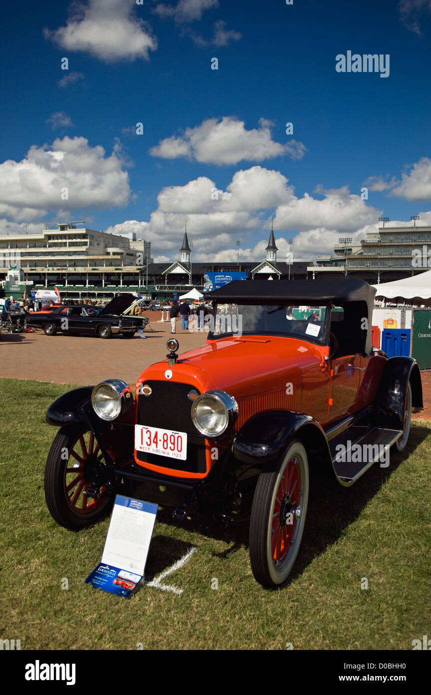 1923 Jordan Playboy Automobile on Display at the 2012 Concours d'Elegance at Churchill Downs in Louisville, - Stock Image