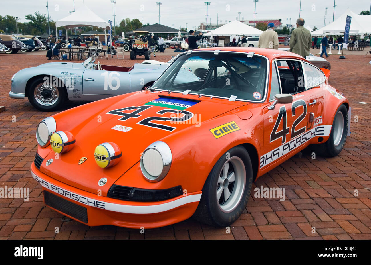 1972 Porsche 911S At The 2012 Concours DElegance Churchill Downs In Louisville