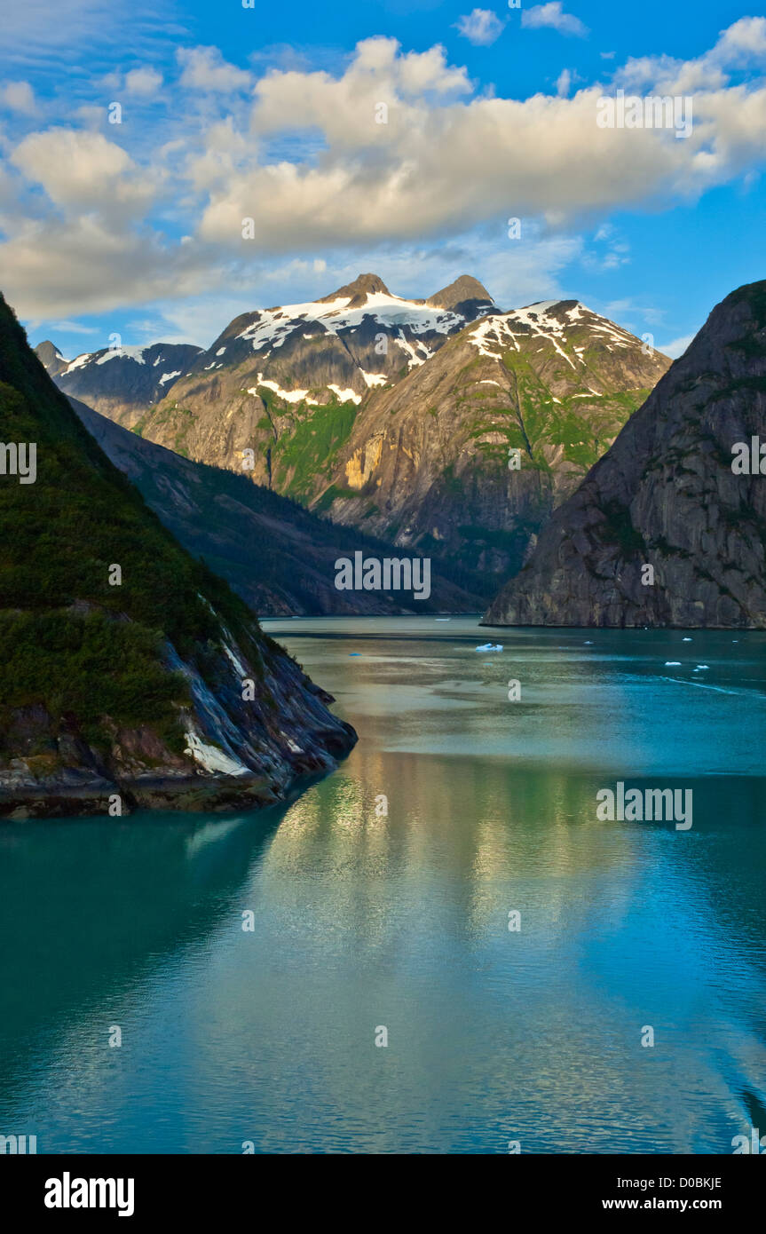 Tracy Arm Fjord, Tongass National Forest, Alaska, USA - Stock Image