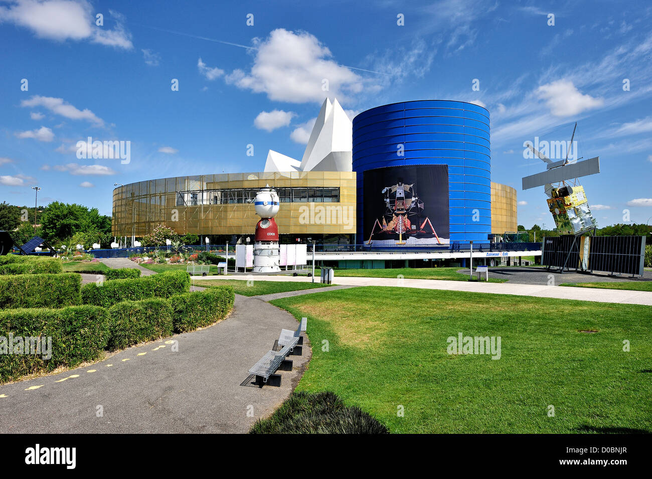The Cite de l'Espace, Toulouse, France. - Stock Image
