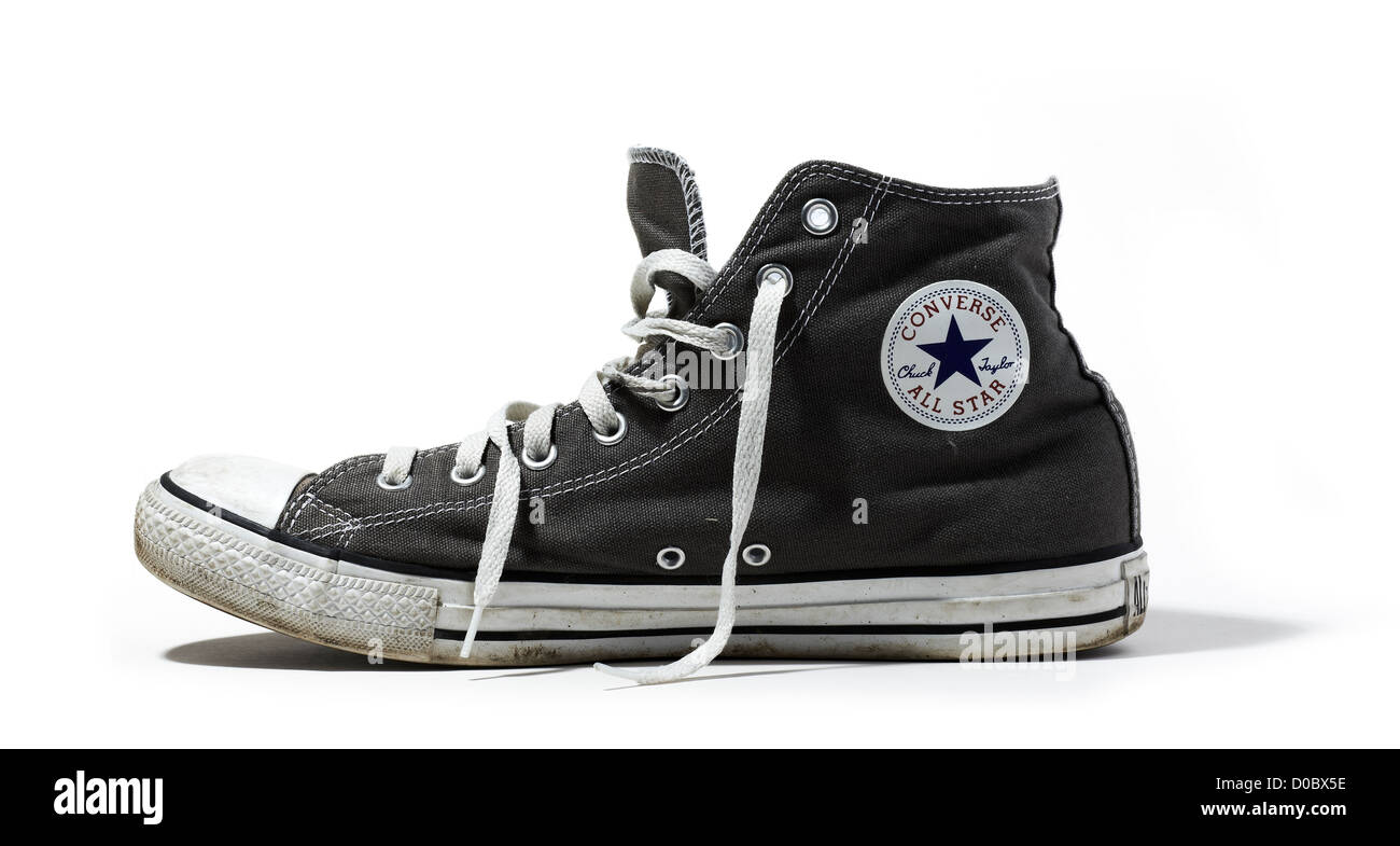 8ddffd6af2e Converse All Stars Retro shoes All Star converse allstar Stock Photo ...