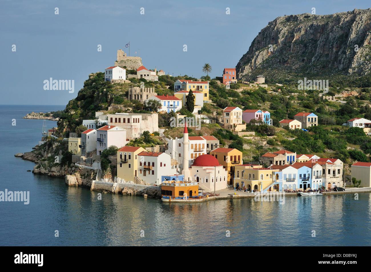 Kastellorizo. Dodecanese Islands. Greece. - Stock Image