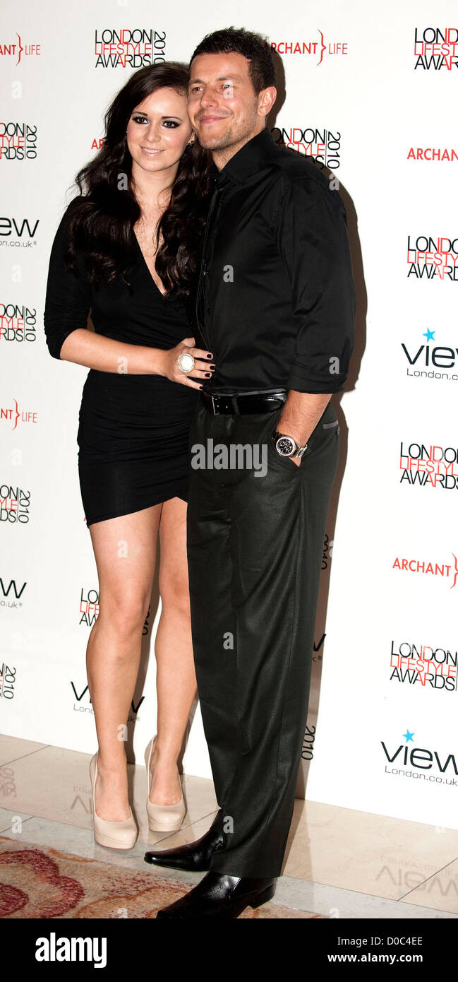 lee latchford evans and kerry lucy taylor london lifestyle awards