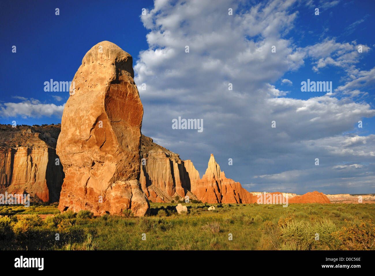 Chimney Rock in Kodachrome Basin State Park, UT - Stock Image