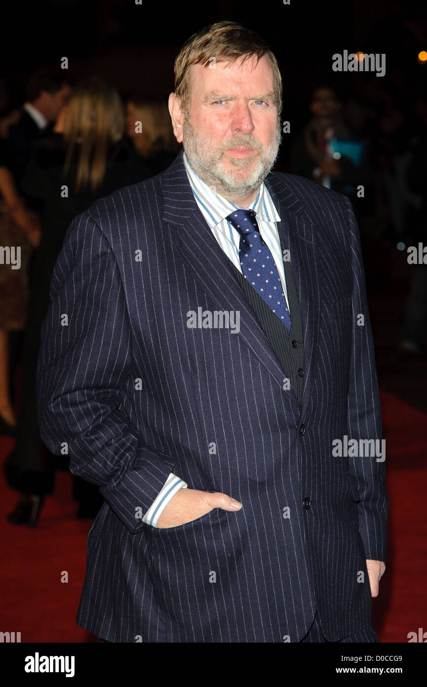 Timothy Spall attends the American Express Gala Screening of 'The King's Speech' during the 54th BFI - Stock Image