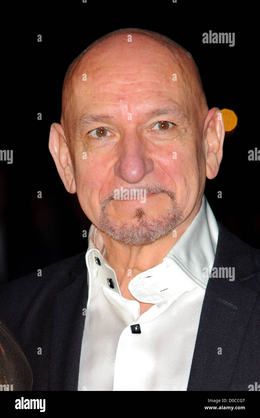 Ben Kingsley attends the American Express Gala Screening of 'The King's Speech' during the 54th BFI - Stock Image