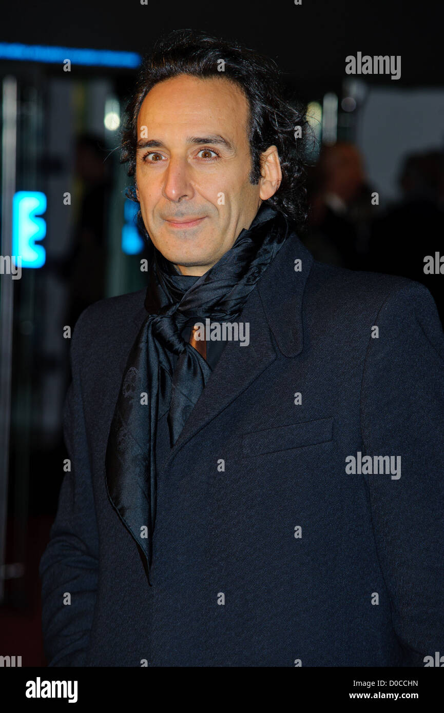 Alexandre Desplat attends the American Express Gala Screening of 'The King's Speech' during the 54th - Stock Image