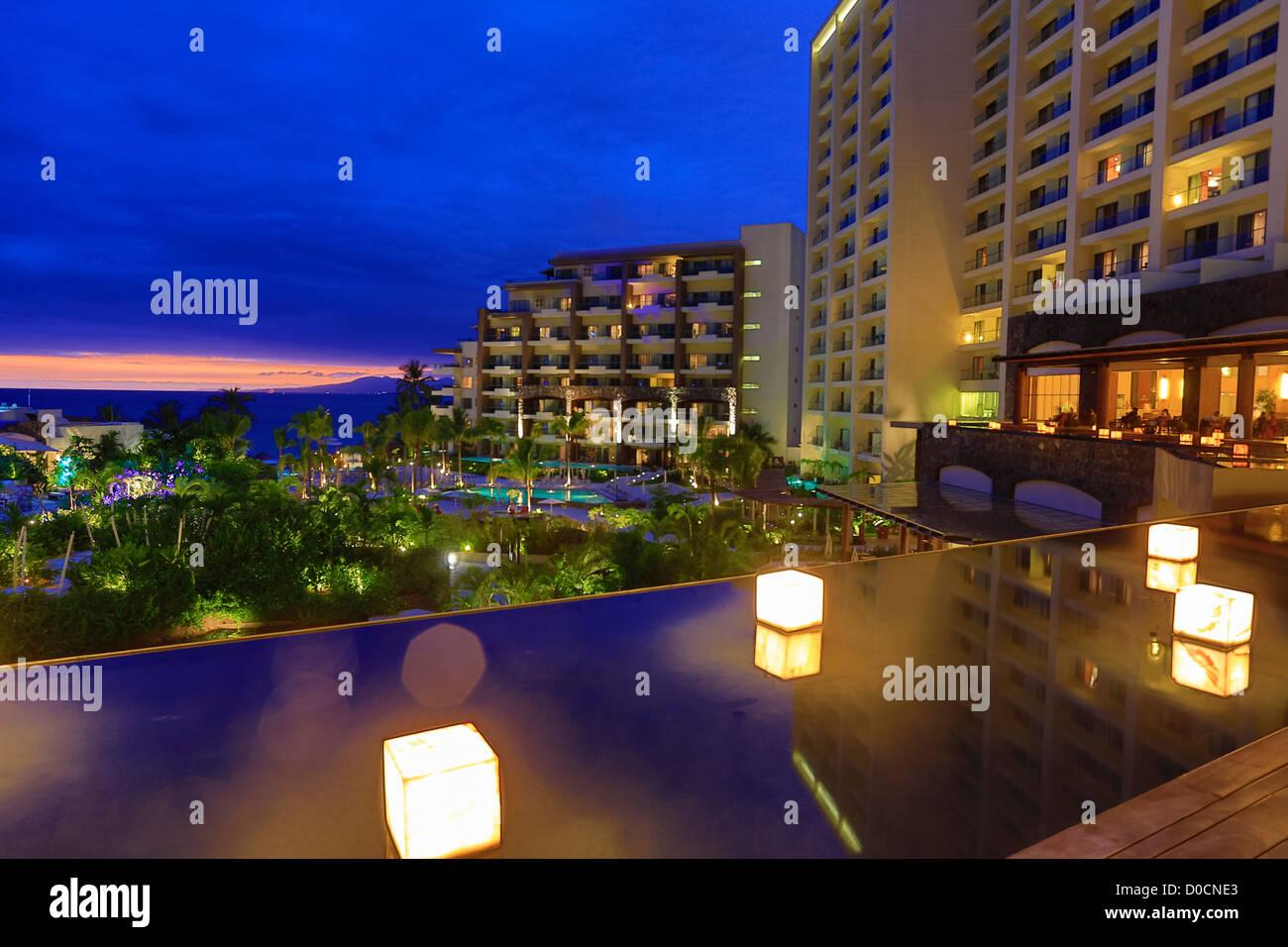 Secrets Resort, Puerto Vallarta, Jalisco, Mexico - Stock Image