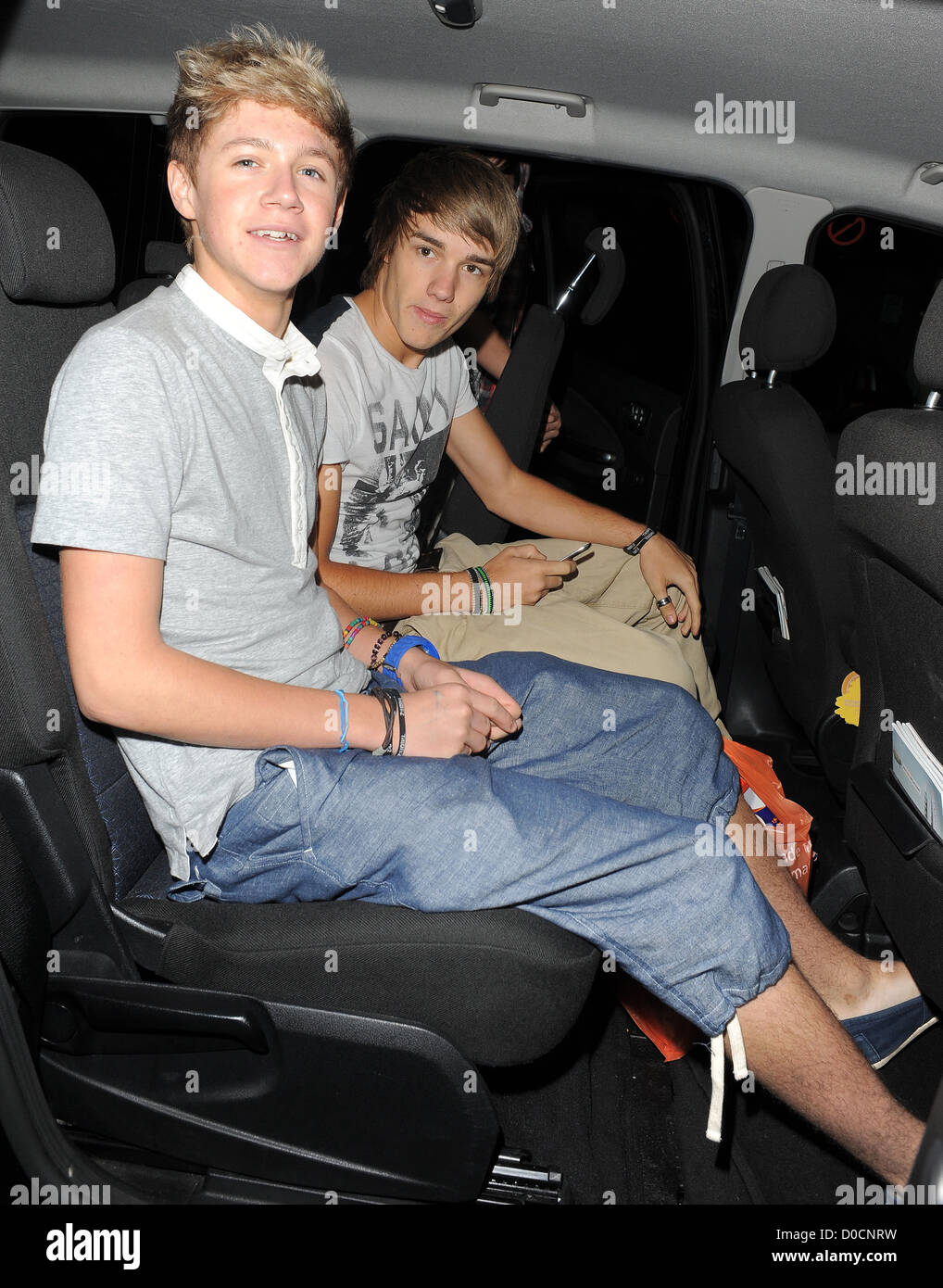 Outstanding X Factor Contestants Niall Horan And Liam Payne Of Boy Band Customarchery Wood Chair Design Ideas Customarcherynet