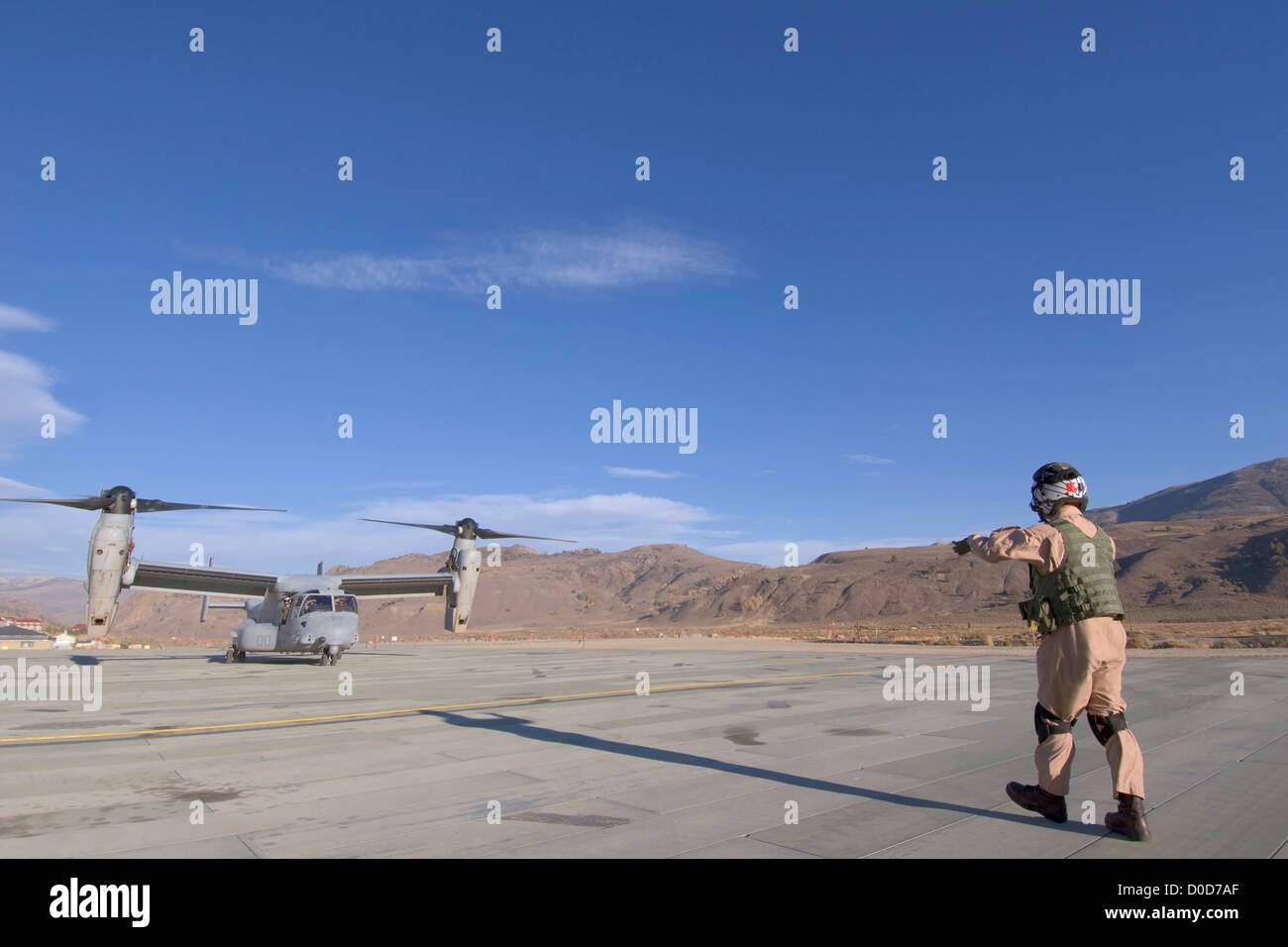 The V-22 Osprey - Stock Image