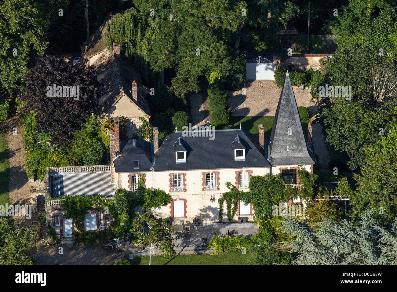 LA RAMIERE ARISTIDE BRIAND'S LAST RESIDENCE COCHEREL EURE (27) NORMANDY FRANCE - Stock Image