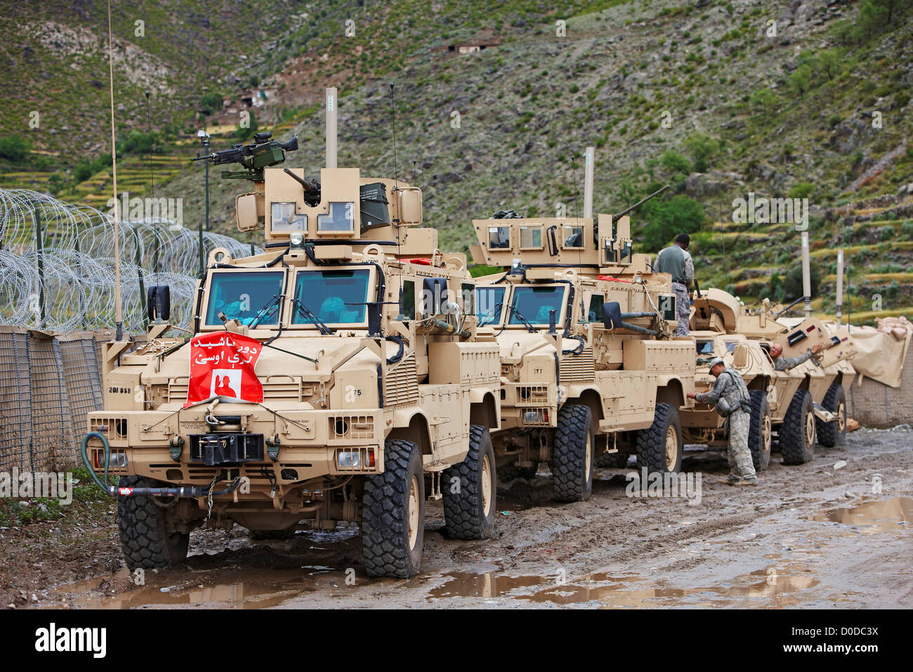 united states army convoy in afghanistan