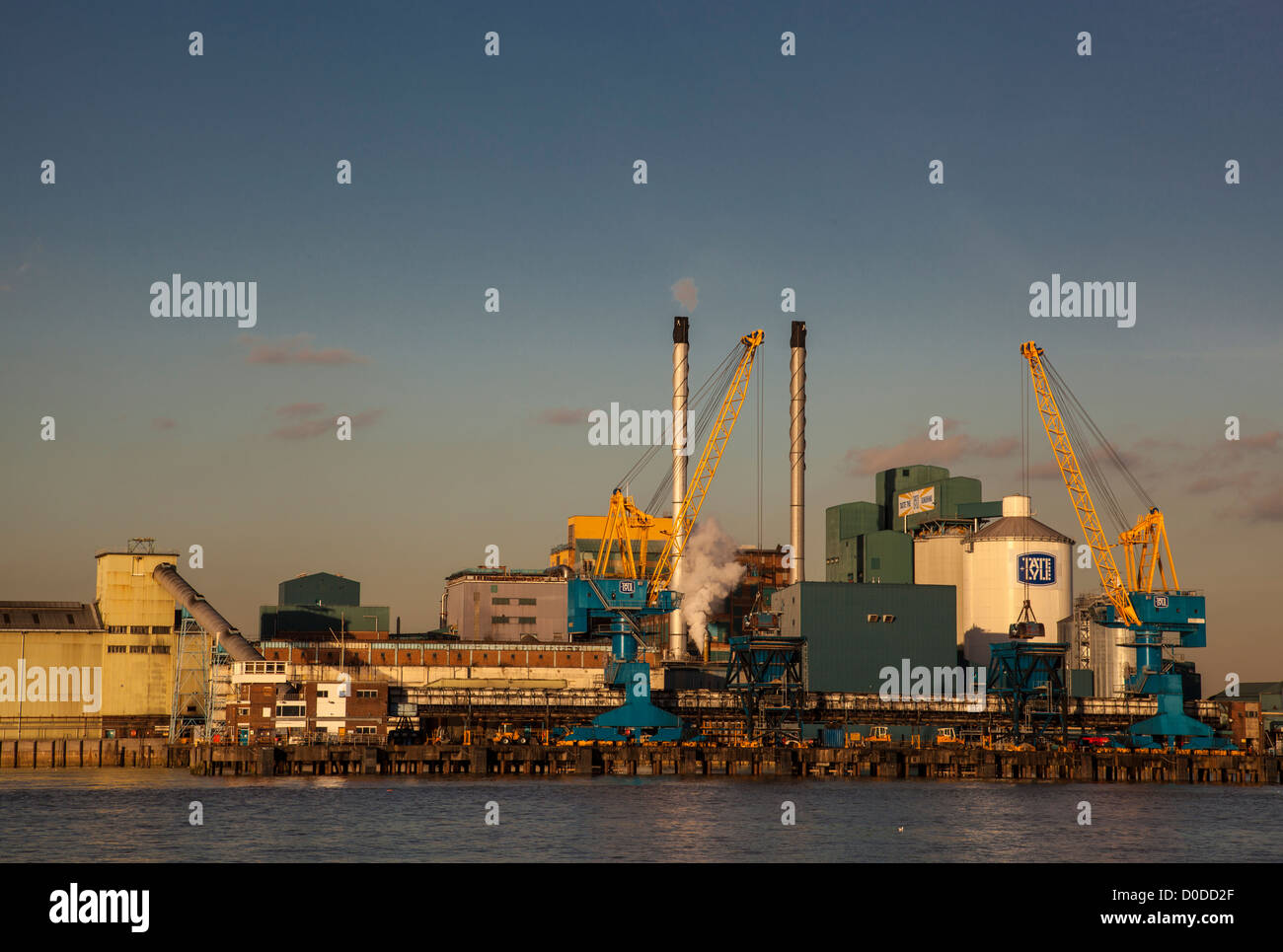 Tate and Lyle building, Silvertown, East London - Stock Image