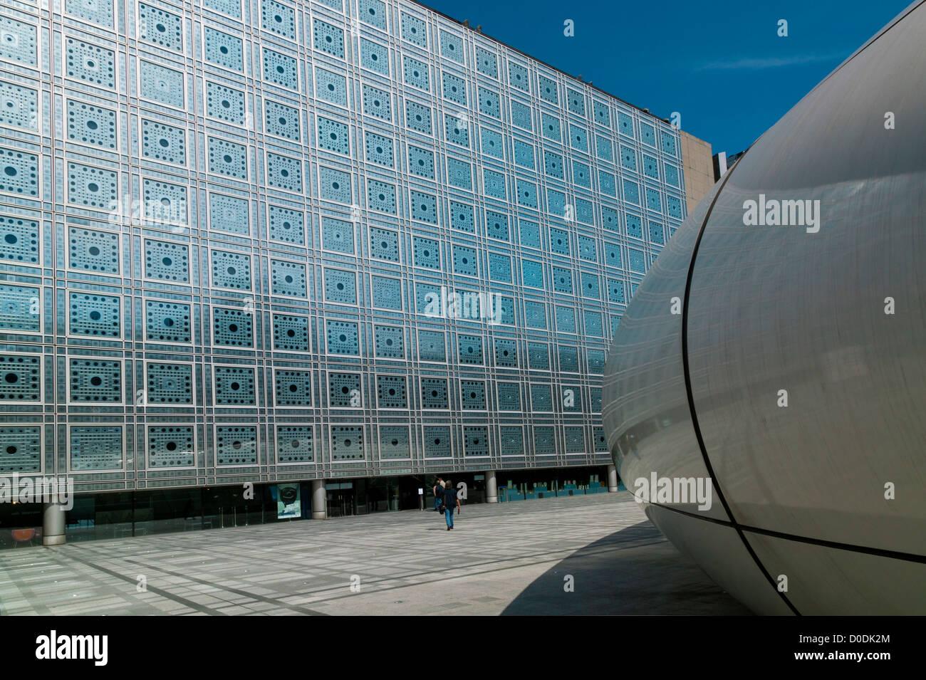 The Arab World Institut, Paris, France - Stock Image