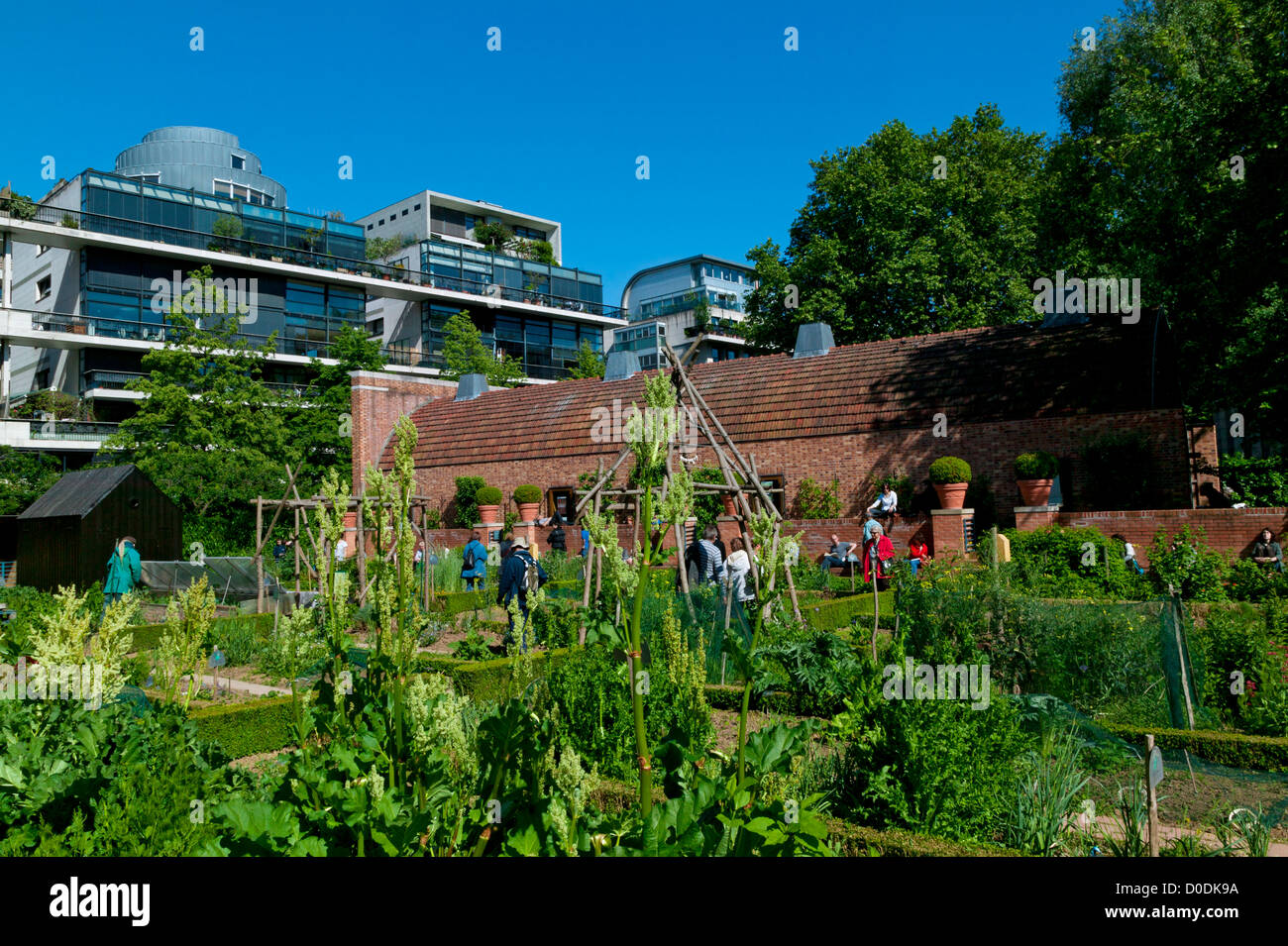 The Park Of Bercy, Paris, France Stock Photo