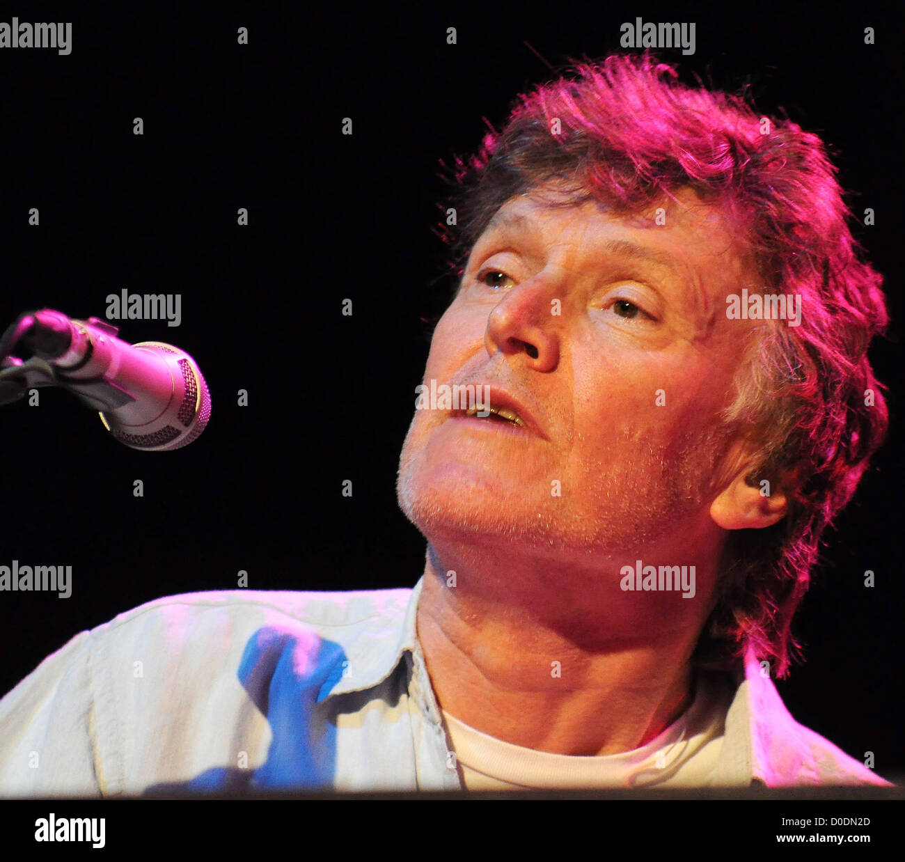 Steve Winwood performing live at The Olympia Theatre Dublin, Ireland - 25.10.10 - Stock Image